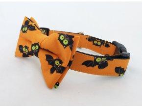 Obojek helloween pro pejska + motýlek