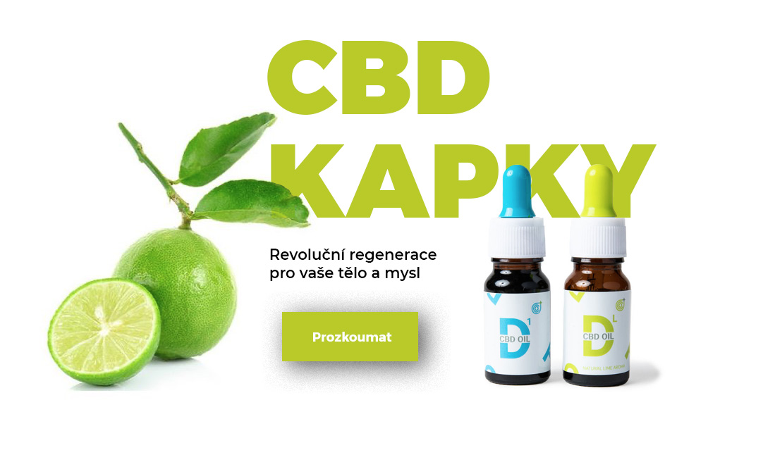 CBD Kapky