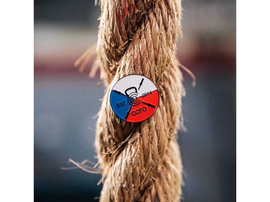 odznak czech ceska vlajka czechproud