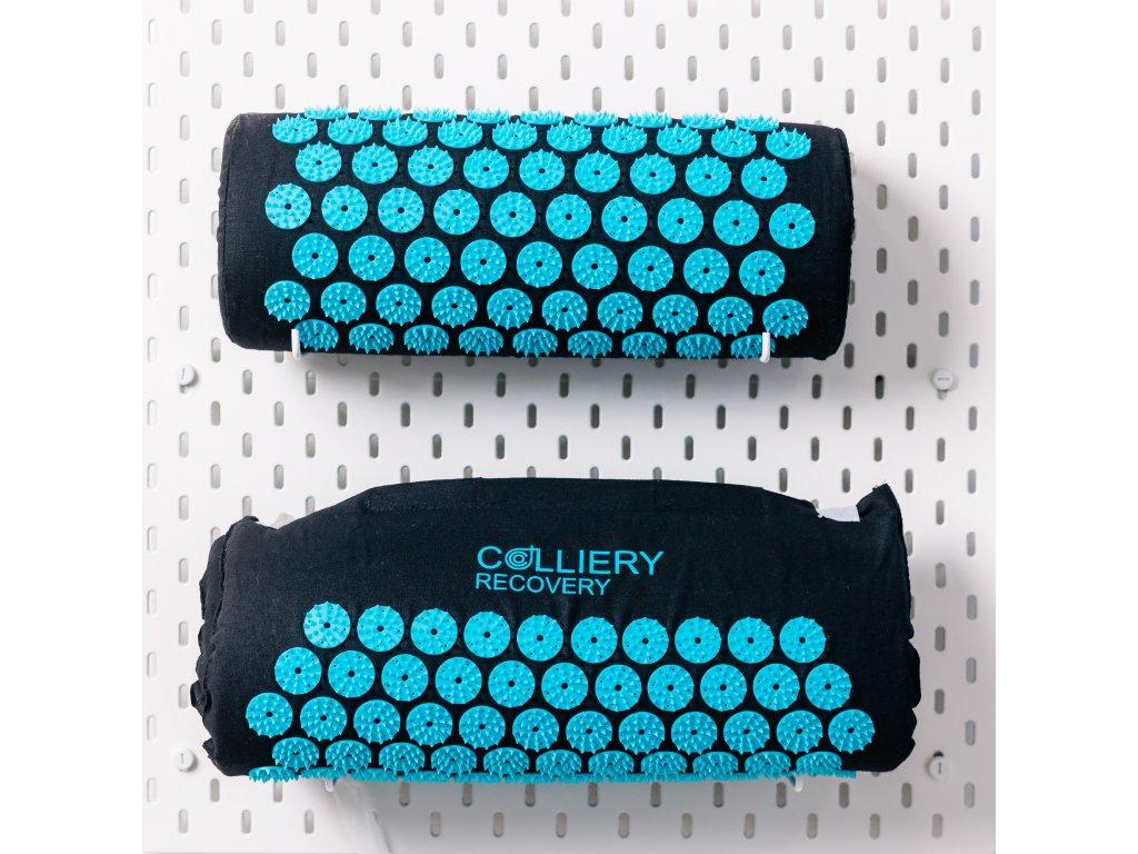 akupresurní podložka akupresurní collier recovery podlozka shakti trny akupresurni terapie tyrkysová hroty fakir fakír