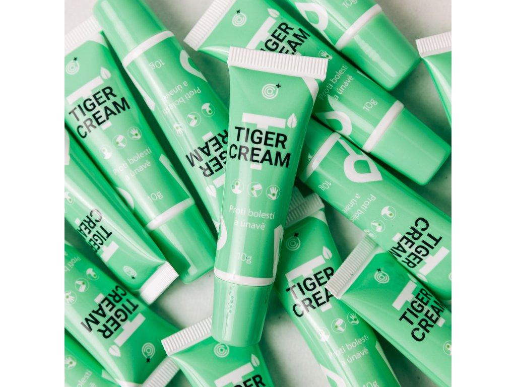 tygří mast zelená