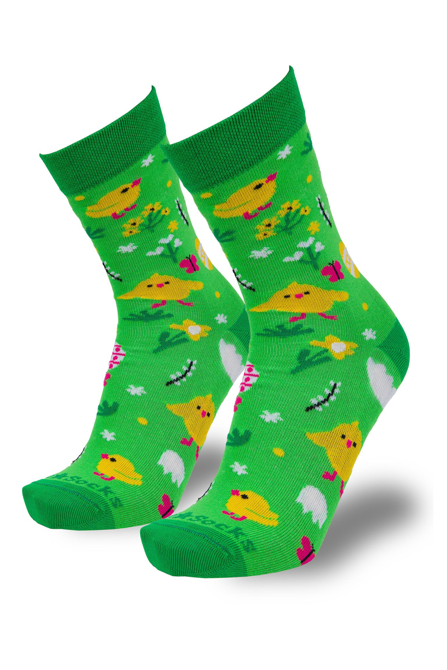 Barevné velikonoční ponožky