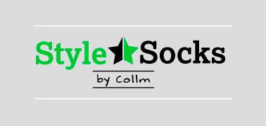 Barevné vzorované ponožky STYLE SOCKS