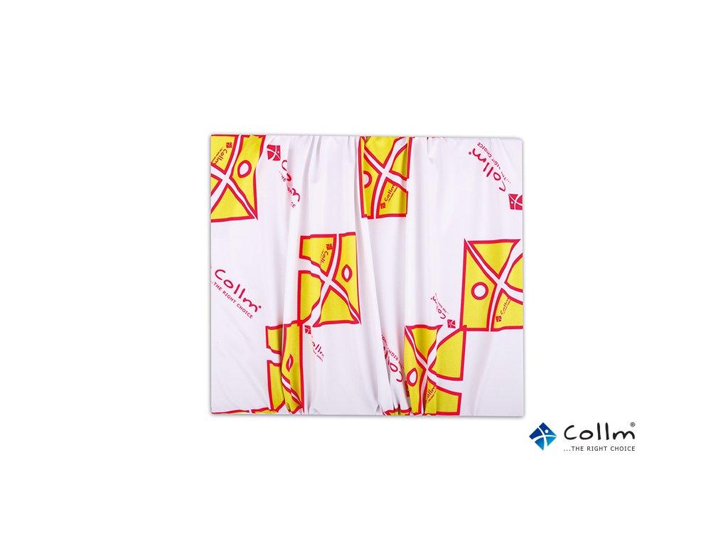 Multifunkční šátek COLLM bílo-zelený - COLLM.CZ 25acfe3483