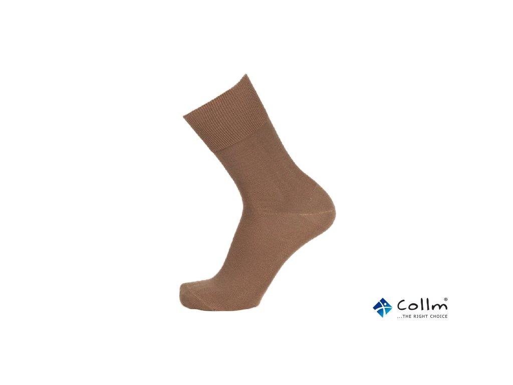 7220ebf6e29 Ponožky se stříbrem BIO COTTON béžové (Velikost S 4-5 (37-38