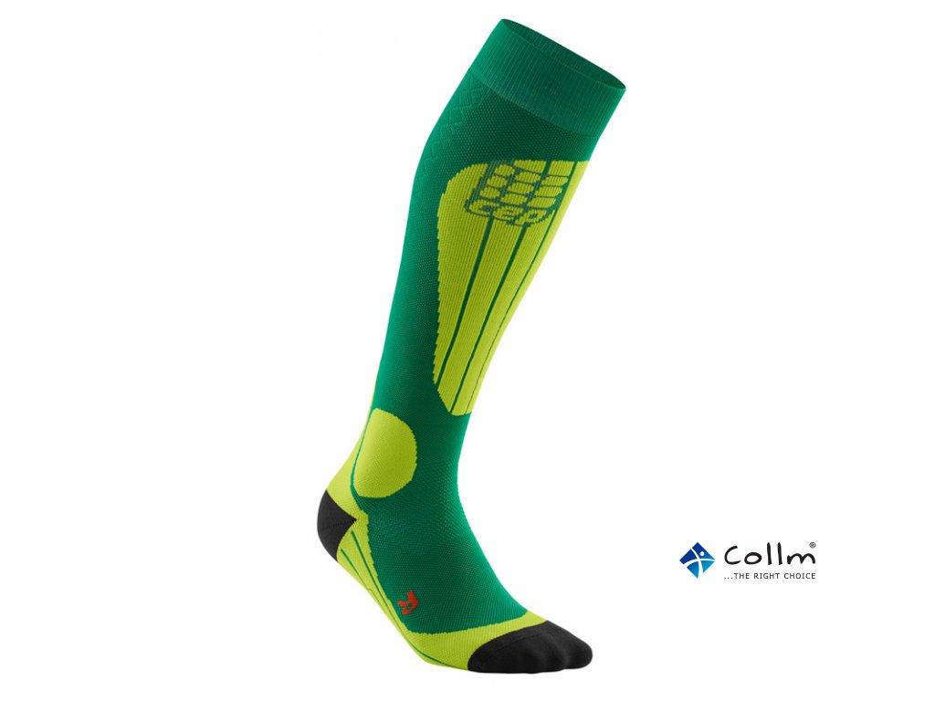 CEP ski thermo socks forestlightgreen WP53J2 m WP43J2 w single ebb974a990