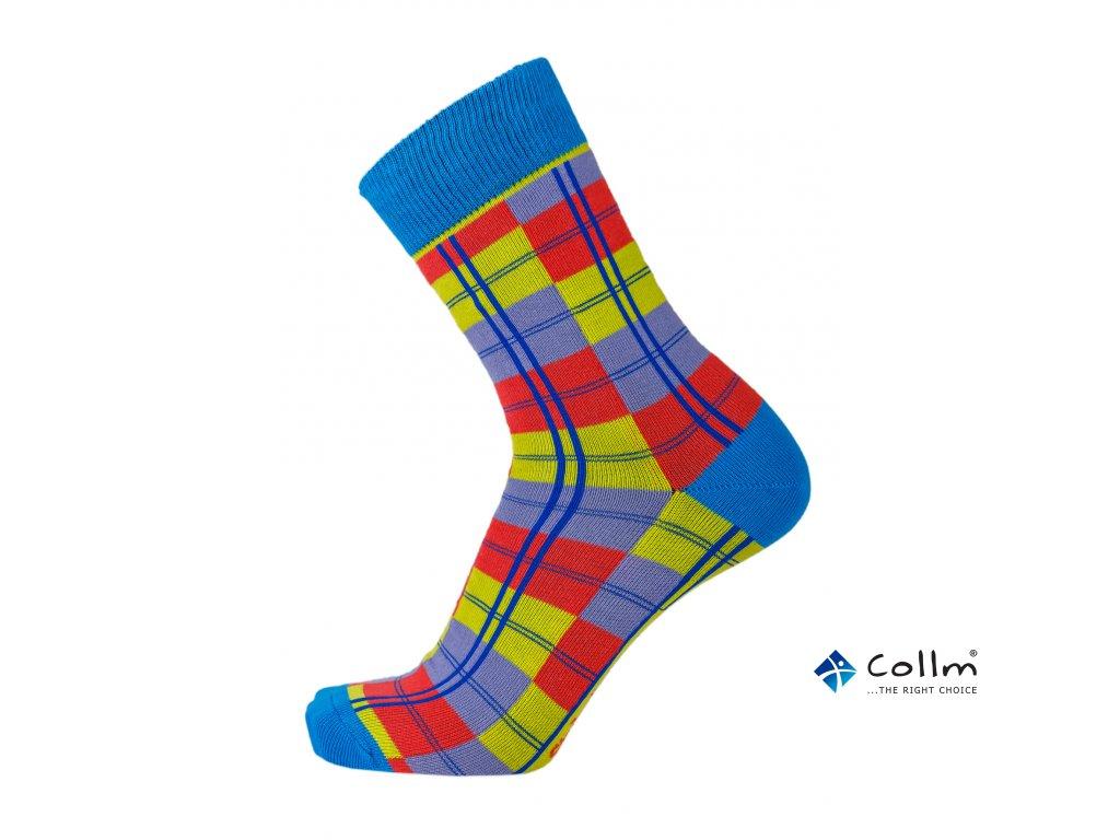 barevné pánské ponožky collm line. 1 z 3. stylové barevné ponožky do ... 8d003f3612