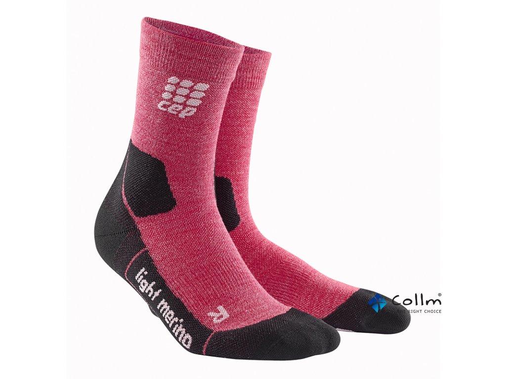 ponožky na turistiku merino