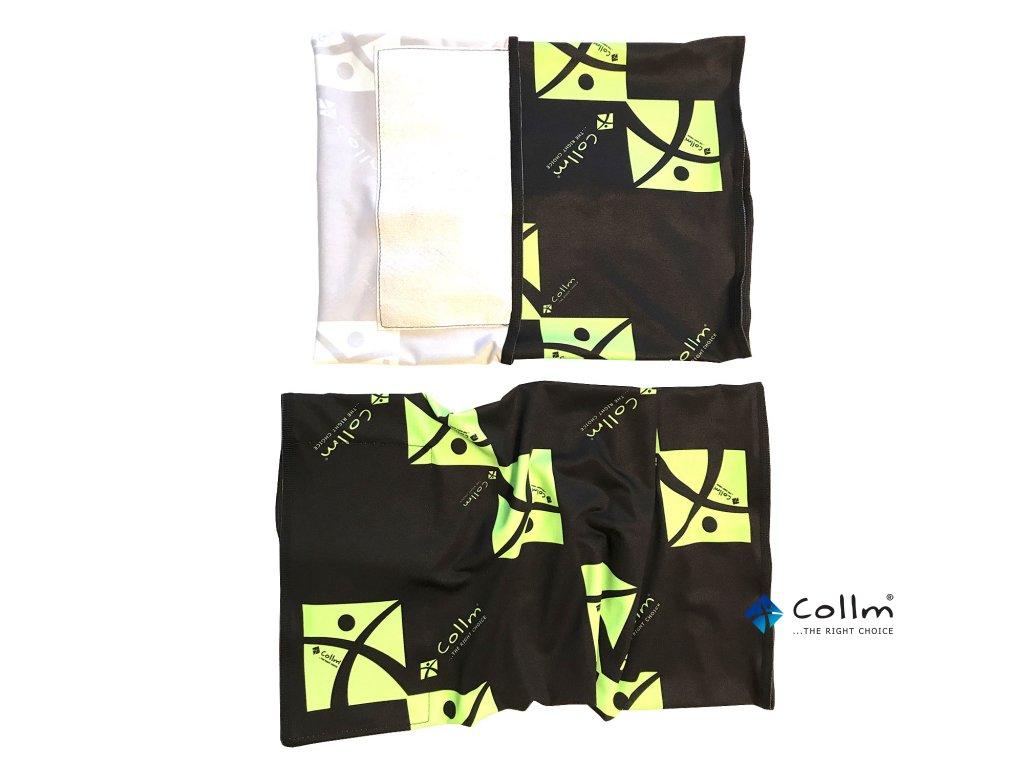 šátek s nanomembránou na kolo