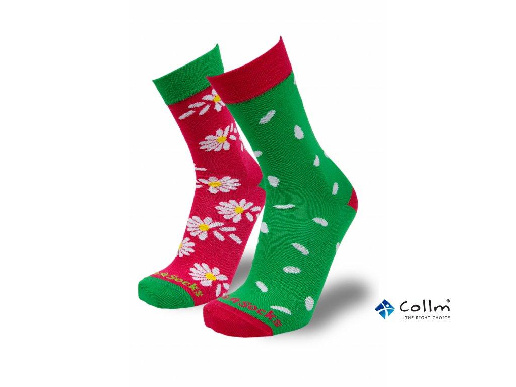 dámské barevné ponožky