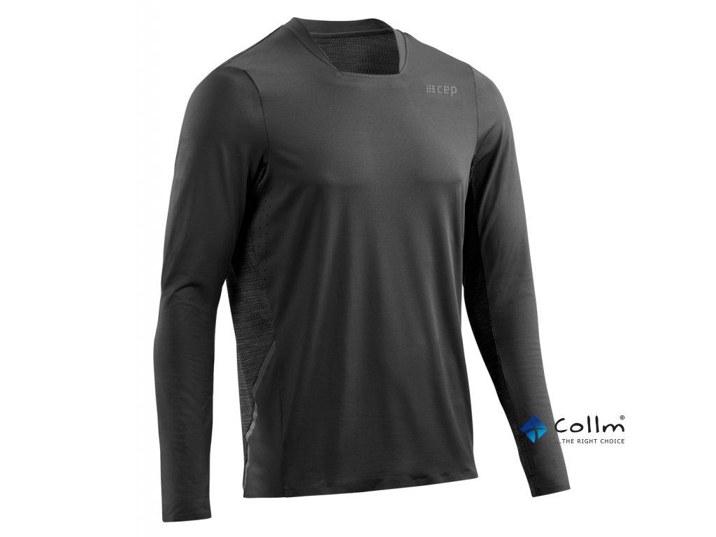 pánské běžecké triko s dlouhým rukávem