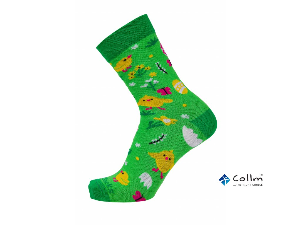 velikonoční ponožky style socks