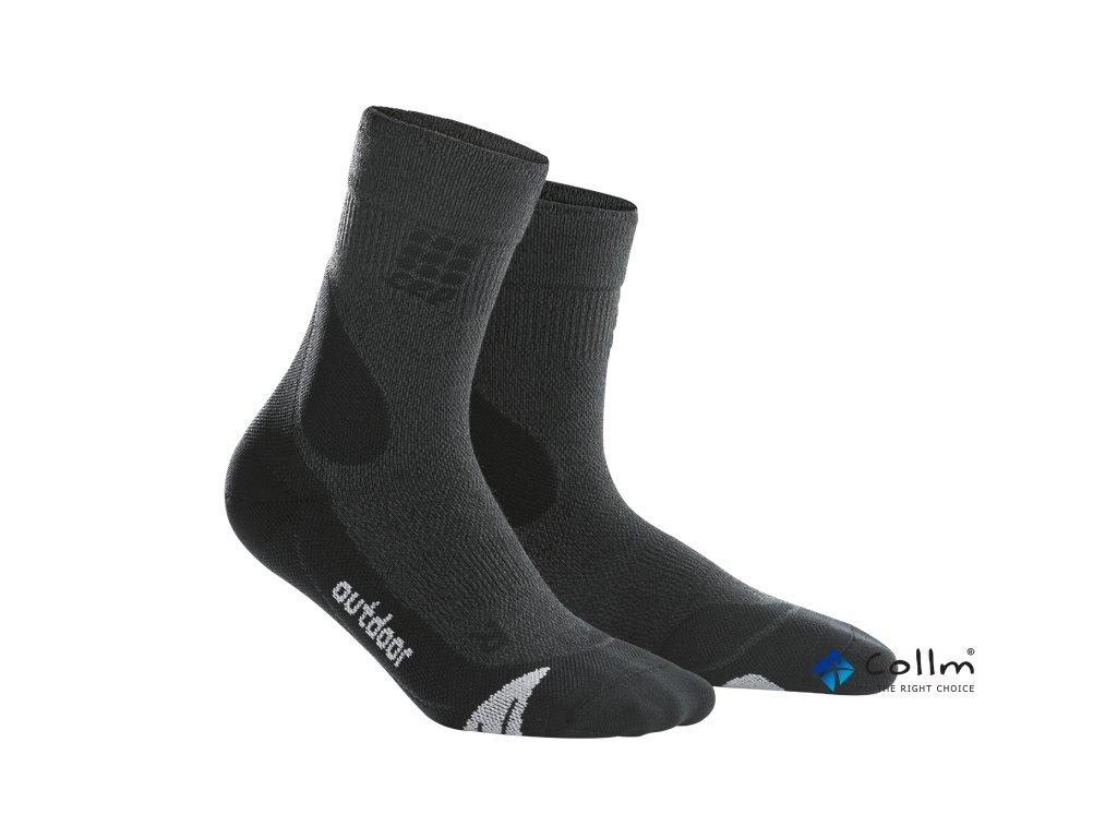 kompresní ponožky merino