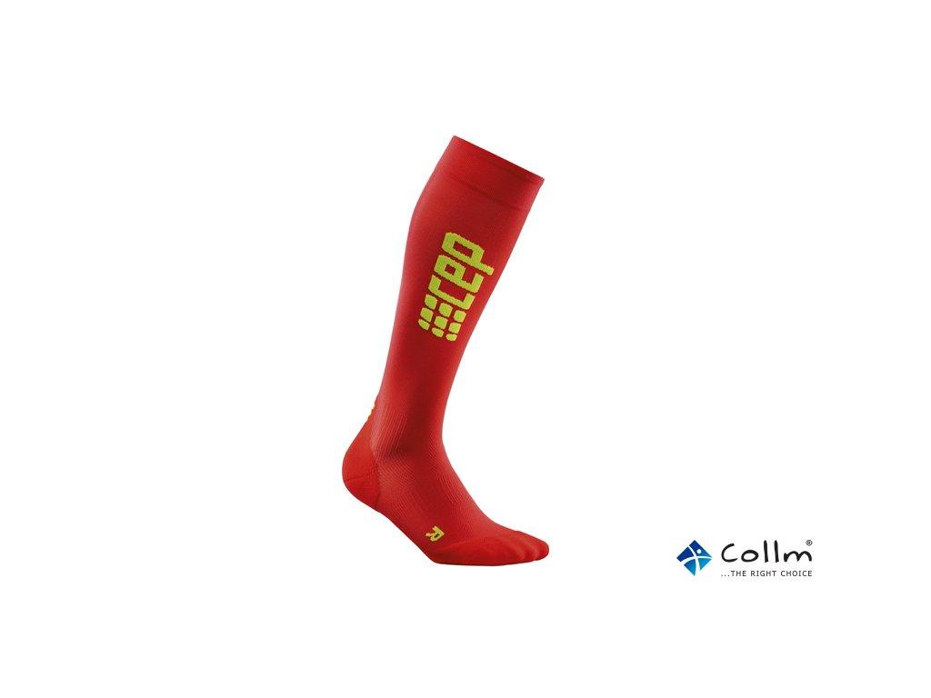 3339b36a87e Kompresní podkolenky CEP ULTRALIGHT červené (Velikost II. Obvod lýtka 25 -  31 CM