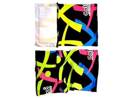 šátek s nanomembránou proti bakteriím a virům