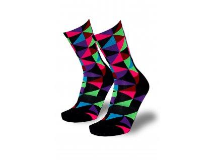 barevné ponožky trio