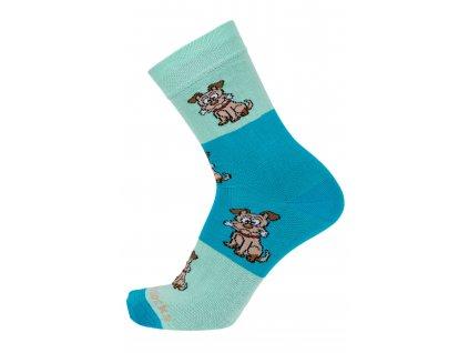 ponožky s pejsky