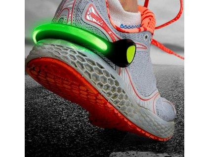 LED svítící klipy na boty