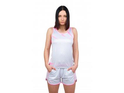damske sportovni tilko collm silver pink