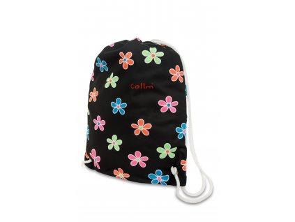 batoh na záda květiny