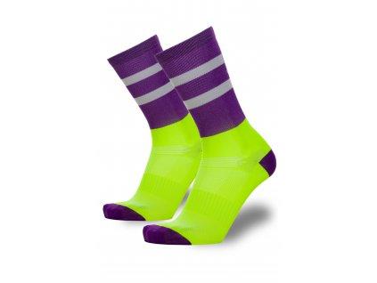 sportovní ponožky collm elise fialové