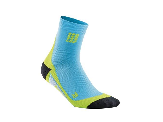 Kompresní ponožky CEP pánské, havajská modř/zelená (Velikost Velikost III. - Obvod přes kotník 20,5 - 23 cm)