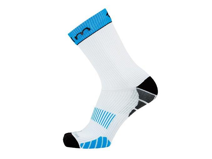 Kompresní ponožky bílé