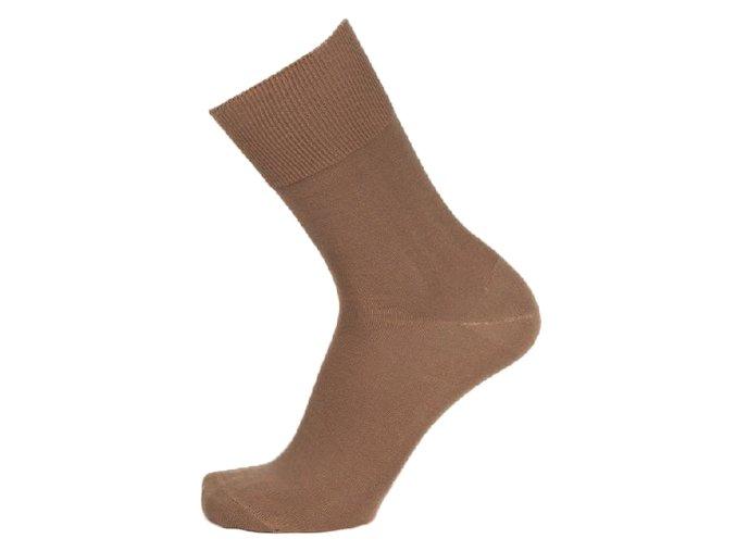 a108cbe95db Ponožky se stříbrem BIO COTTON béžové - COLLM.CZ