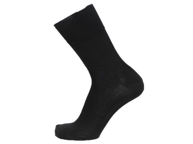 Zdravotní ponožky se stříbrem BIO COTTON černé