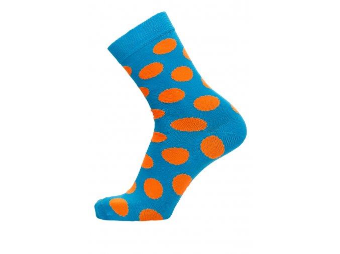 ponožky puntiky