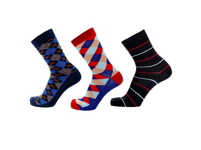 barevné ponožky pro muže