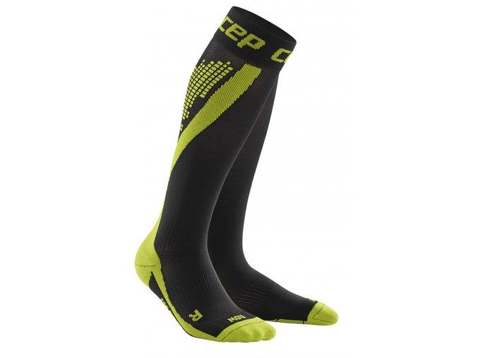 CEP nighttech socks green WP5LG3 m WP4LG3 w pair 72dpi