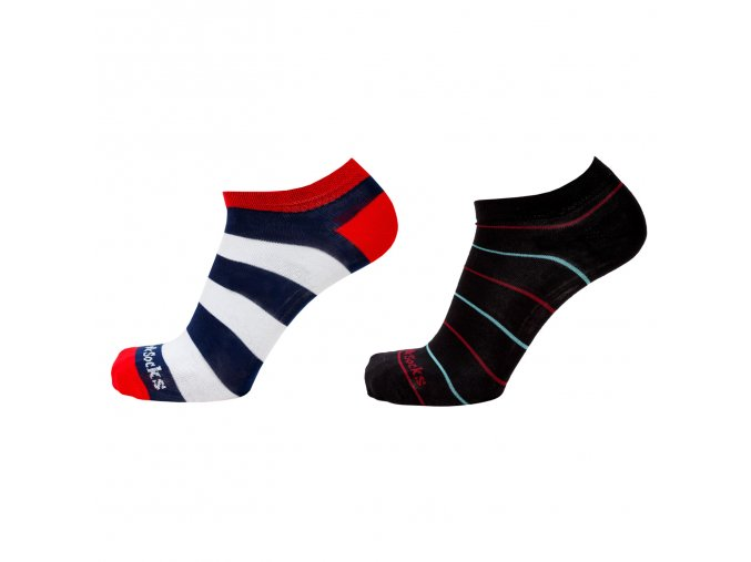 nízké barevné ponožky style socks