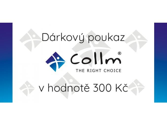 darkovy poukaz collm 300
