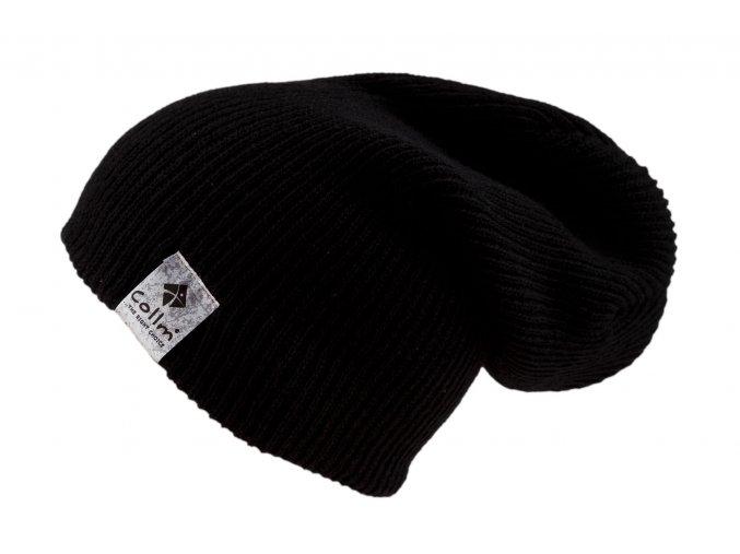 pletená čepice černá