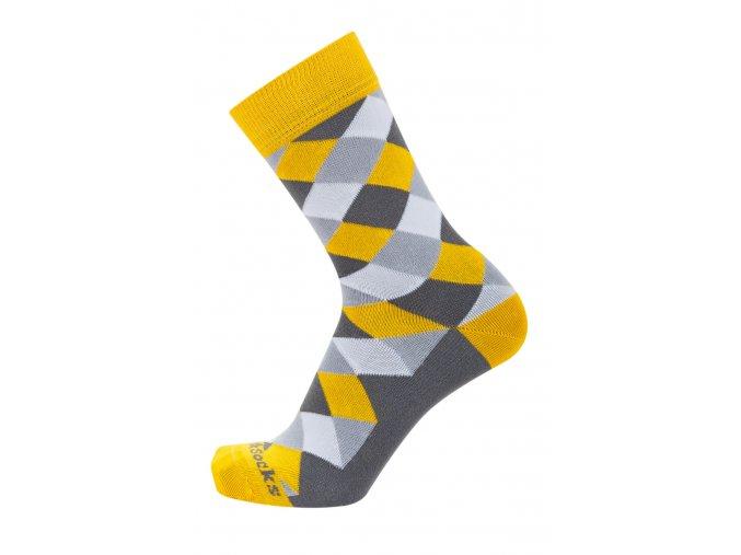 barevné ponožky do obleku