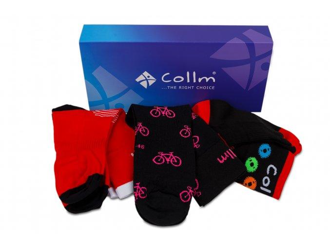 dámské ponožky na kolo