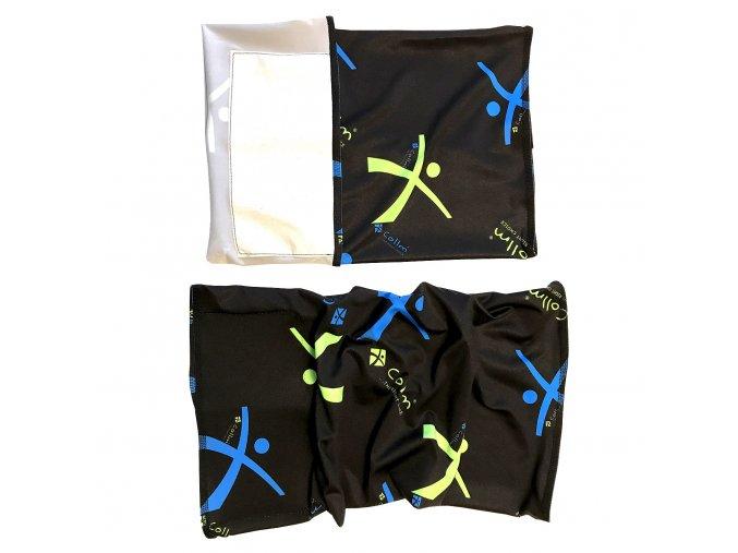 sportovní šátek s nanomembránou proti virům