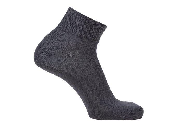Bambusové ponožky nízké - šedé (Velikost S 4-5 (37-38))