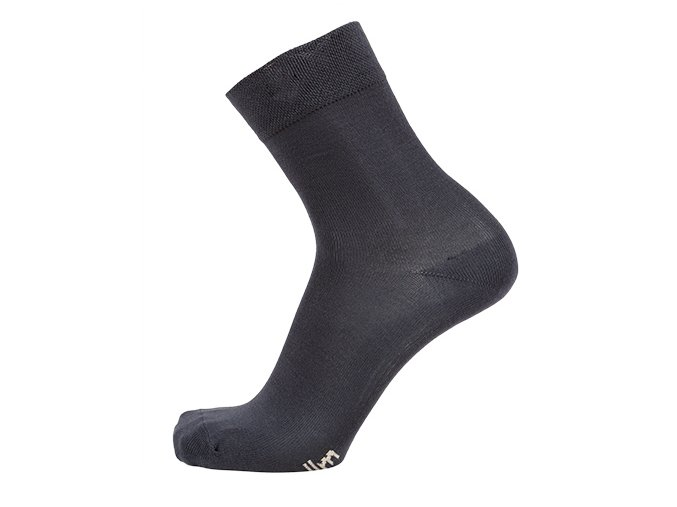 Bambusové ponožky tm.šedé - balení 3páry (Velikost 24 - 25 cm (37-39))