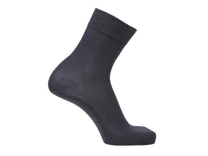 Bambusové ponožky tmavě šedé (Velikost S 4-5 (37-38))