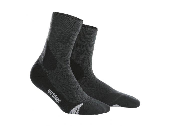 CEP kompresní ponožky MERINO šedé - COLLM.CZ bb75861c18