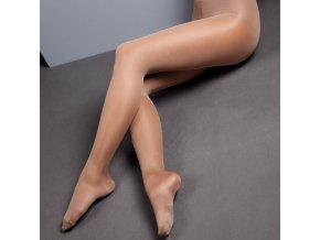 Podpůrné kompresní punčochy MAXIS 140DEN tělové (Barva Tělová, Velikost S výška do 158 cm, obvod přes boky 100 cm)