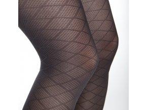 Podpůrné stehenní punčochy s krajkou Maxis 140DEN PASSION (Velikost L výška 164-170 cm, obvod stehna 50-60 cm)