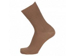 Ponožky se stříbrem BIO COTTON béžové (Velikost S 4-5 (37-38))