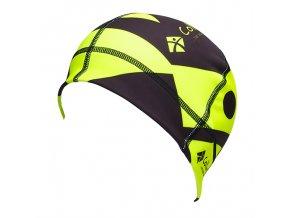 Sportovní čepice COLLM černo-žlutá