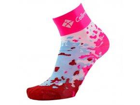 Sportovní ponožky růžové