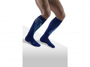 CEP ski thermo socks blueazur WP5312 m WP4312 w single