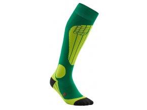 CEP ski thermo socks forestlightgreen WP53J2 m WP43J2 w single
