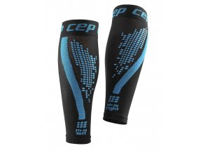 CEP nighttech calf sleeves blue WS5L30 m WS4L30 w pair back 72dpi
